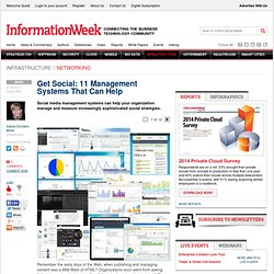 Get Social: 11 Management Systems That Can Help - The BrainYard - InformationWeek
