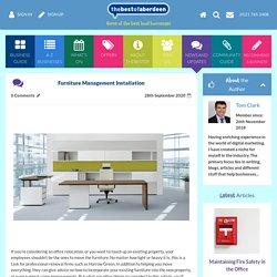 Furniture Management Installation