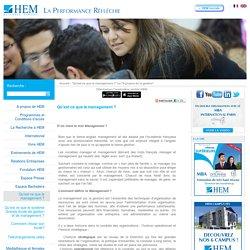 HEM - Institut des Hautes Etudes de Management et de Gestion