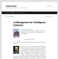 Le Management de l'Intelligence Collective - Culture Next