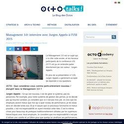 Management 3.0: interview avec Jurgen Appelo à l'USI 2015