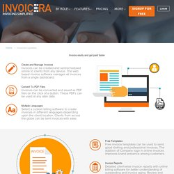 Invoice Management Software - Invoicera™