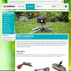 Water Management by GARDENA - Garden Irrigation Systems Watering
