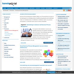 Business Process Management - Kennisportal