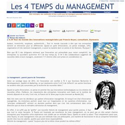 Management : Les 4 Temps du Management