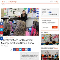 5 Best Practices for Classroom Management You Should Know