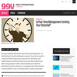 Is Poor Time Management Limiting Your Potential?