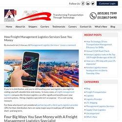 Freight Management Logistics - Amstan