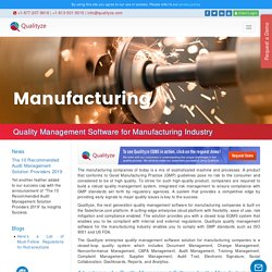 Quality Management System for General Manufacturing Industry