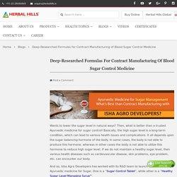 Ayurvedic Medicine for Sugar Management