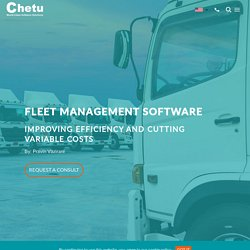 Fleet Management Software: Improving Efficiency and Cutting Variable Costs