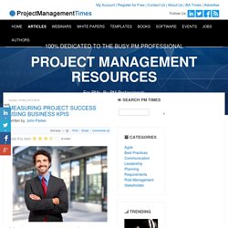 Measuring Project Success Using Business KPIs