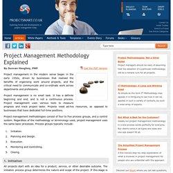 Project Management Methodology Explained