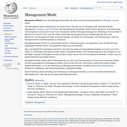 Management-Mode