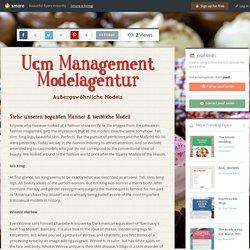 Ucm Management Modelagentur