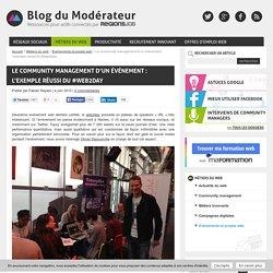Le community management d'un événement : l'exemple réussi du #web2day