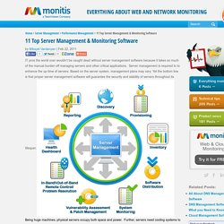11 Top Server Management & Monitoring Software