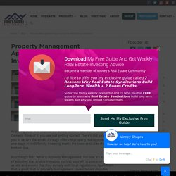 Property Management Approaches for Multifamily Real Estate Investors