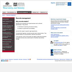 Records management - National Archives of Australia
