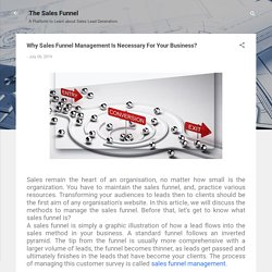 Why Sales Funnel Management Is Necessary For Your Business?