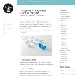 Management: 3 nouvelles façons de manager