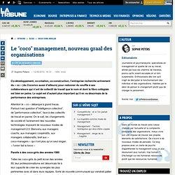 """Le """"coco"""" management, nouveau graal des organisations"""