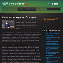 Classroom Management Strategies: Top 10 Rules, Organization