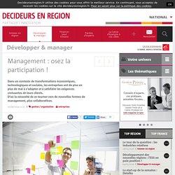 Management : osez la participation ! - Côte d'Azur