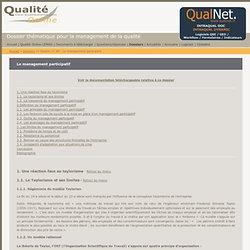 Le management participatif - dossier thématique pour le management de la qualité