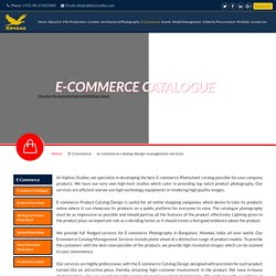 ecommerce product catalog design