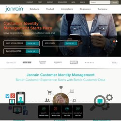 Janrain | user management platform for the social web