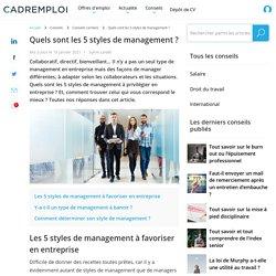 Styles de management : quels sont ceux à privilégier en entreprise