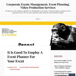 It Is Good To Employ A Event Planner For Your Event