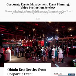 Obtain Best Service from Corporate Event Management Company Melbourne