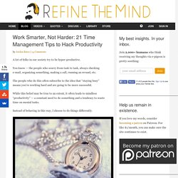 www.refinethemind.com/21-time-management-tips/