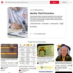 Discover ideas about Identity Theft Prevention