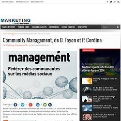 Community Management, David Fayon Paul Cordina, Pearson
