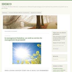 management de proximité – IDERCO
