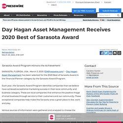 Day Hagan Asset Management Receives 2020 Best of Sarasota Award