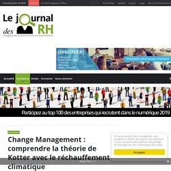 Change Management: comprendre la théorie de Kotter avec le réchauffement climatique