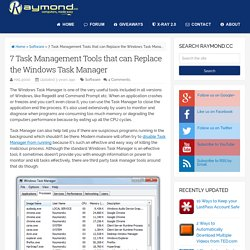 7 Task Management Tools that can Replace the Windows Task Manager