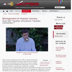 Management et réseaux sociaux