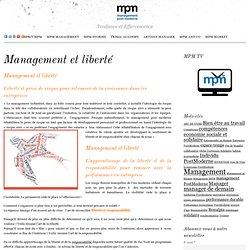 Management Post Moderne Management et liberté: la responsabilité de chacun