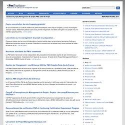 Gestion de projet, Management de projet, PMO : ressources et outils