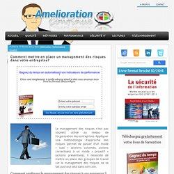 Management des risques et management des processus : AMDEC système