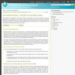 ATLAS DU MANAGEMENT - Loi Sarbanes-Oxley : contrôler les sociétés cotées