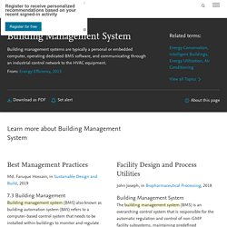 Building Management System - an overview