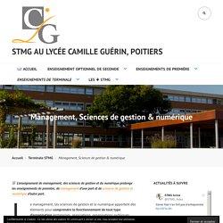 Management, Sciences de gestion & numérique – STMG au Lycée Camille Guérin, Poitiers
