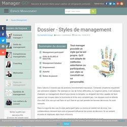 Styles de management : sélection d'articles