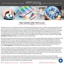 PPC Company, PPC Management Services, PPC Campaign Management